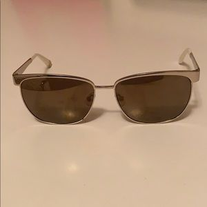 Juicy Couture Gold and White Sunglasses
